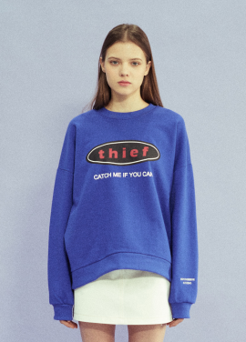 [18SS 신상 10% 할인/NOYCOMMON] THIEF SWEATSHIRT BL