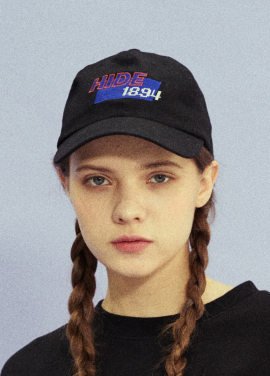 [18SS 신상 10% 할인/NOYCOMMON] HIDE 1984 BALL CAP BK