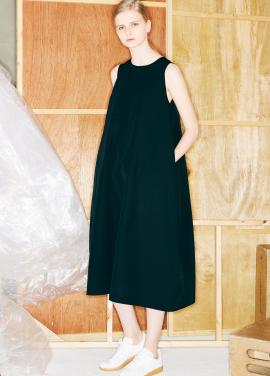 [단독할인★20%+5%/Mardi Mercredi] SLEEVELESS MAXI DRESS BLACK