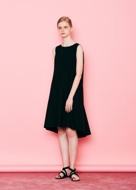 [단독할인★20%+5%/Mardi Mercredi] BACK-DETAILED DRESS BLACK