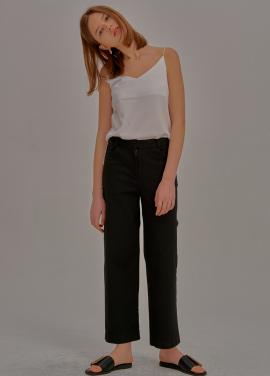 [5%할인/ADDSENSE] One Line Pants_Black