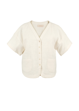 [시즌오프50%/DONADONA]Baseball Shirts_White