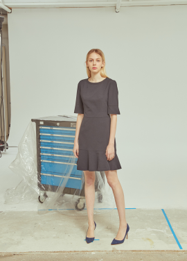 ◆Flare Simple Dress[주문폭주]
