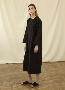 [★인터뷰특가15%+5%★RAYE TOG]TUNIC SHIRT DRESS R18D001 (BLACK)