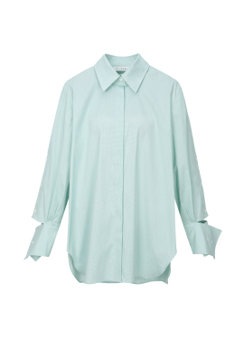 Sleeve Trimming Blouse