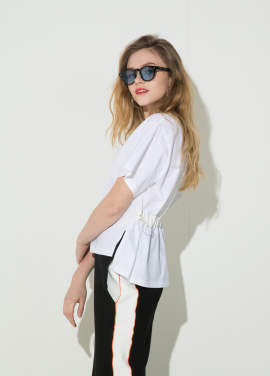 [신상 10%할인/ATICLE]String Point T-Shirt (White)