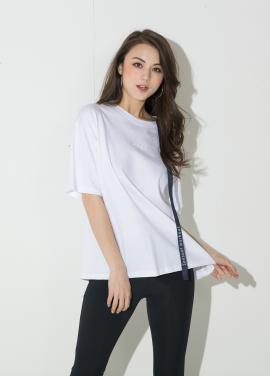 [신상 40%할인/ATICLE]Ribbon Point T-Shirt (White)