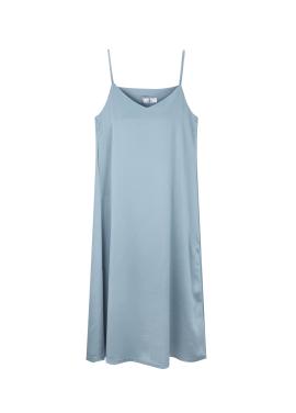 Shiny Sleeveless Dress