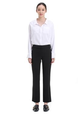 ◆ Basic Hidden Button Pants