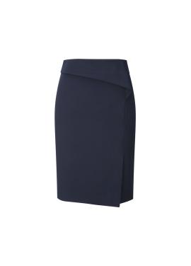 ◆Solid H Line Skirt