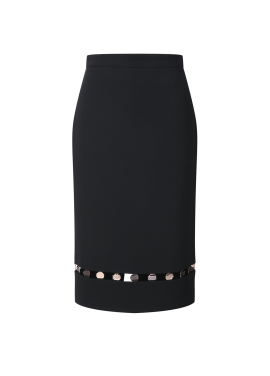 Ball Point H Line Skirt