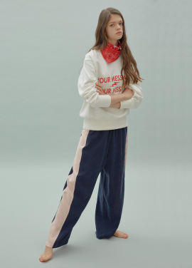 [SURREAL BUT NICE/5%쿠폰] Line String Pants