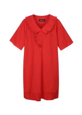 Ribbon Neckline Dress