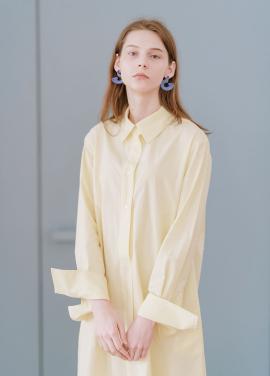 [신규런칭 7%할인쿠폰/kollab] COLOR FIGURE DRESS LEMON