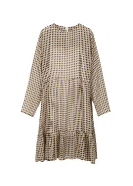[5월15일 예약배송] Chiffon Hemline Ruffle Dress