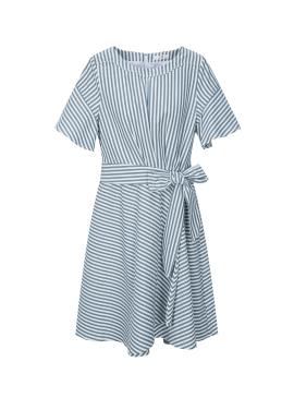 ◆Stripe Belt Dress