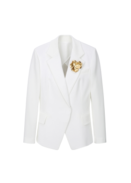 Gold Broach Jacket