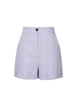 Simple Linen Short Pants