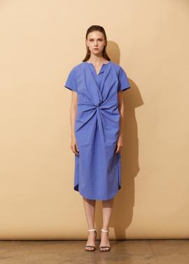 [5%할인+5%쿠폰/AHINEDITION] TWIST WAIST T-SHIRT DRESS