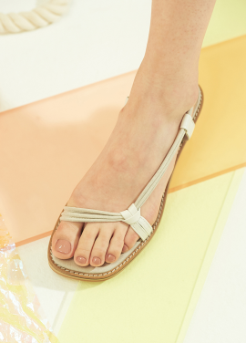 [10%할인/WITE] C14 - GREY STRING SANDAL