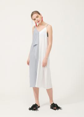 [40%할인/진기주,고원희 착용★] Half Frill Dress_WH
