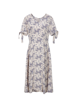 Flower Ribbon Dress