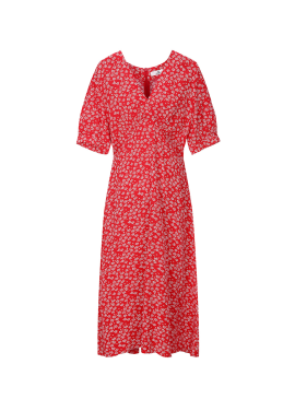 [6월 22일 입고예정] Flower Red Dress [주문폭주/리오더 진행]