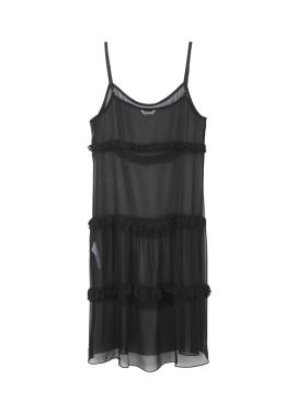 ◈Lace Slit Frill Dress[신혜선착용]