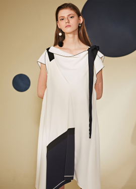 [10%할인/Le yiel] Flexible panel Slip Dress