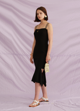 [5%할인+5%쿠폰/jchung] Back Open Dress