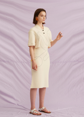 [5%할인+5%쿠폰/jchung] Sporty Print Dress