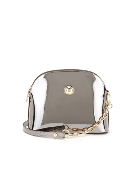 [10%할인/OFF THE RECORD]Moon Light mini Handbag_Dark Silver