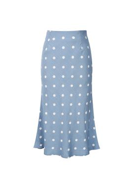 Dot Trumpet Skirt