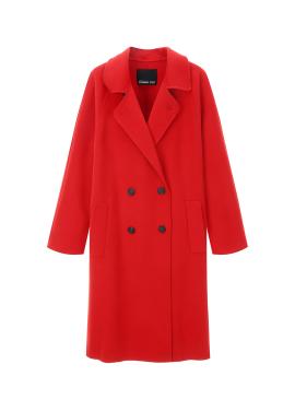[40%할인] Wool Double Button Coat