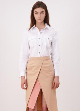 [10%할인/CAHIERS]Button Detail Simple Shirt