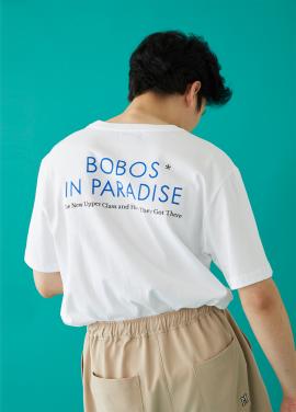 [MSKN2ND]BOBOS SS T-SHIRT WHITE