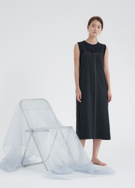 [5%할인/NOTA] CAPSULE STITCH DRESS_NAVY