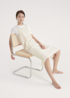 [5%할인/NOTA] CAPSULE STITCH DRESS_CREAM