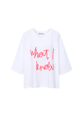 Lettering Loose Fit T-Shirts[정유진 착용★]