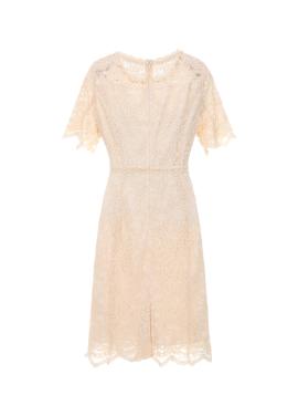 ◆ Half Sleeve Lace Dress