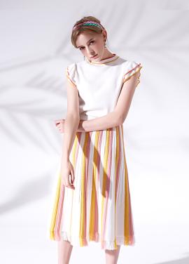 [5%할인/MORANYIF]Flared knit skirt