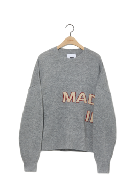 [newkidz nohant] MADE IN SEOUL KNIT SWEATER GRAY