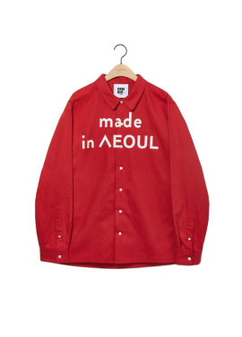 [newkidz nohant] MADE IN SEOUL SHIRT RED