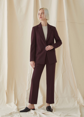 [SET MILLOGREM/10%할인] Basic Suit - Wine