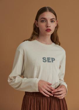 [URAGO/5%] 세템버 나인 티셔츠