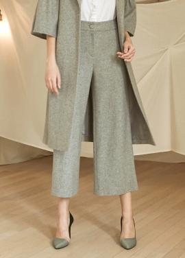 [5%할인/JUST IN STYLE] Shirring pocket wool pants_GRAY