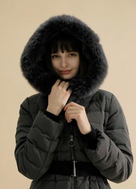 ◆ Raccoon Fur Belted Duck Down Padding[예약판매]