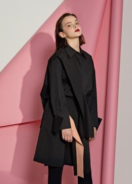 [5%할인/Le yiel] Color Combination Culottes_Black