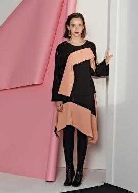 [5%할인/Le yiel] Color Panel Skirt