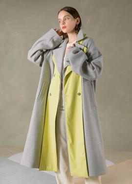 [NU PARCC] Double Flap Coat - LG